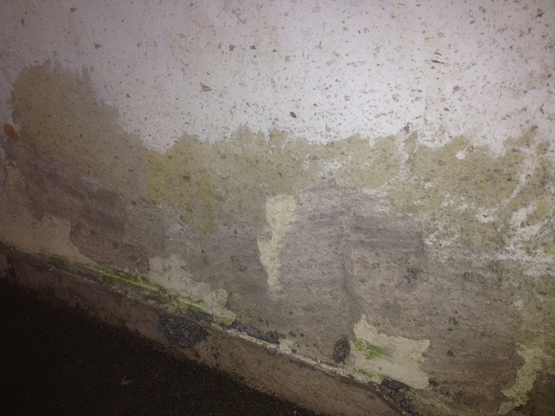 Lekkage door een lekke kitvoeg? | Waterschade.eu