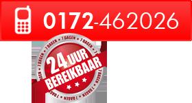 Bel ons op 0172-462026